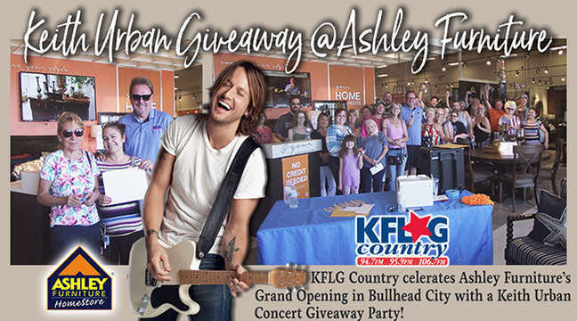 Keith Urban Giveaway Party