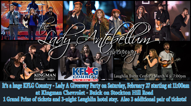 Lady Antebellum Giveaway Party at Kingman Chevrolet