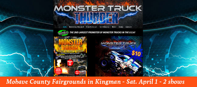 Monster Truck Thunder in Kingman @ Mohave County Fairgrounds