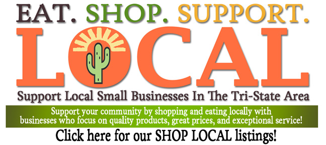 Eat. Shop. Support. Local. Support Small Businesses in The Tri-State Area